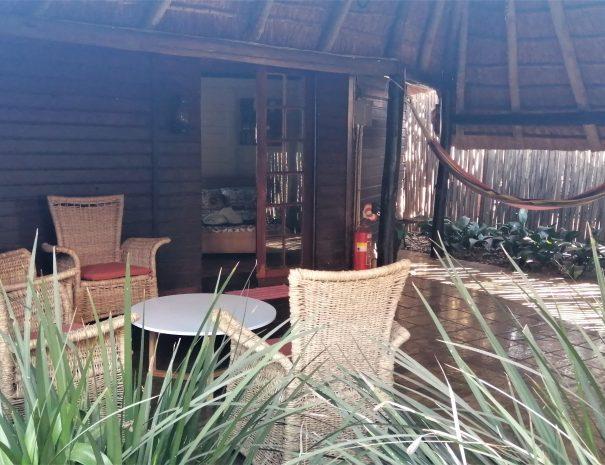 hammock and terrace kruger cottage