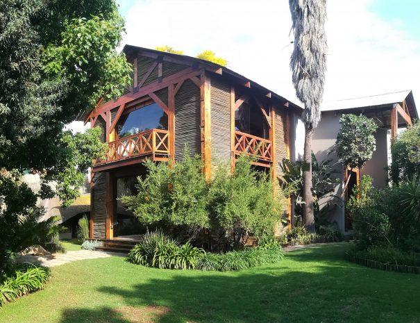 lodge vue du cottage